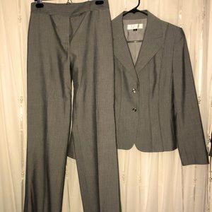 Tahari pinstripe pant suit